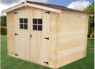 abri jardin bois abris en bois brut ou autoclave pour jardins promo france abris. Black Bedroom Furniture Sets. Home Design Ideas