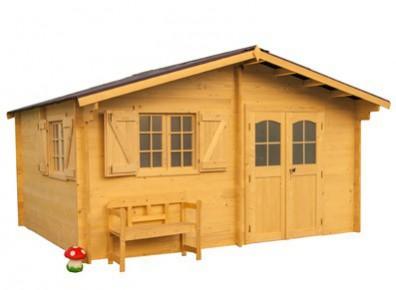 abri de jardin en bois de structure madrier 42 mm. Black Bedroom Furniture Sets. Home Design Ideas