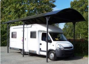 abri camping car en m tal et toile carport livr et install france abris. Black Bedroom Furniture Sets. Home Design Ideas