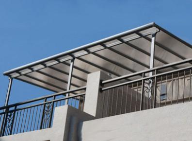 abri toit terrasse adosse en aluminium. Black Bedroom Furniture Sets. Home Design Ideas