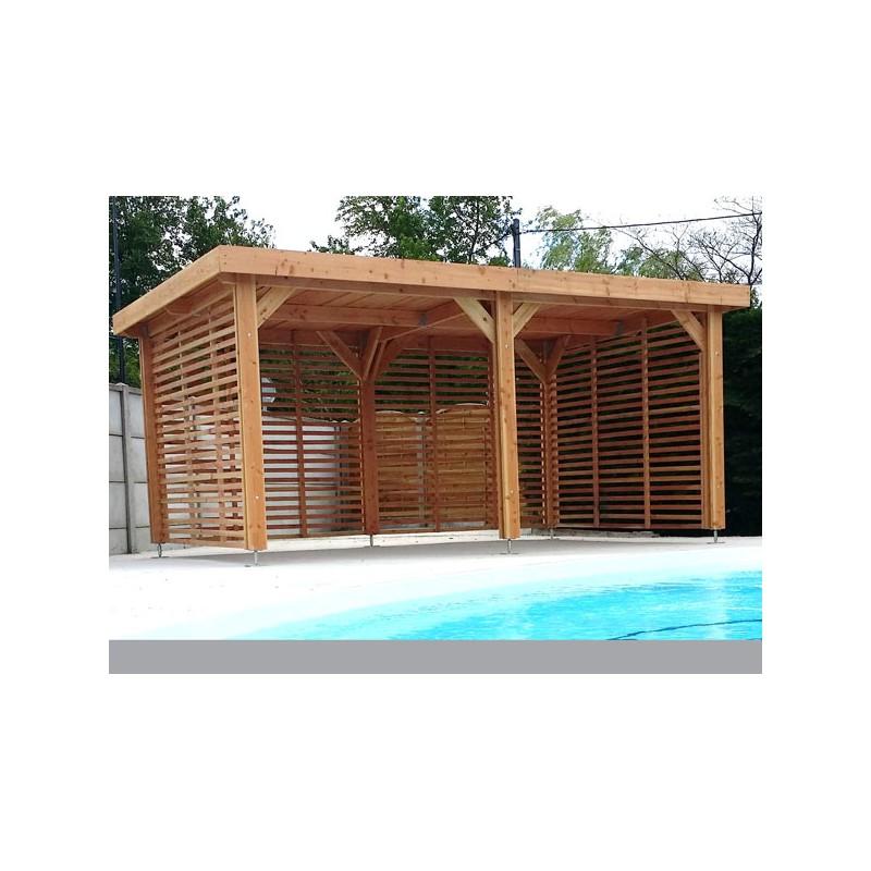 OSSATURE BOIS DOUGLAS : charpente toit plat - PRIX USINE