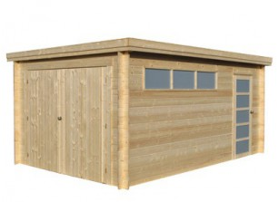 GARAGE EN BOIS 28 MM Idees De Conception De Maison