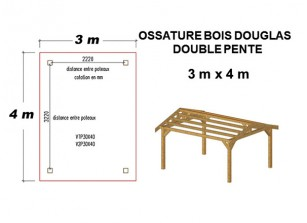 charpente en bois 2 pentes structure tuilable direct usine france abris. Black Bedroom Furniture Sets. Home Design Ideas