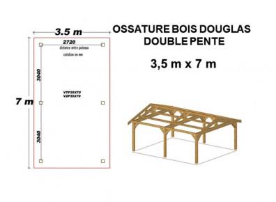 dimension bois de charpente trendy cuest elle qui va donner la pente votre toit le principe est. Black Bedroom Furniture Sets. Home Design Ideas