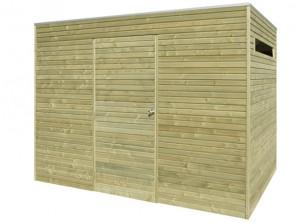 Abri de jardin en bois panneaux 28 mm