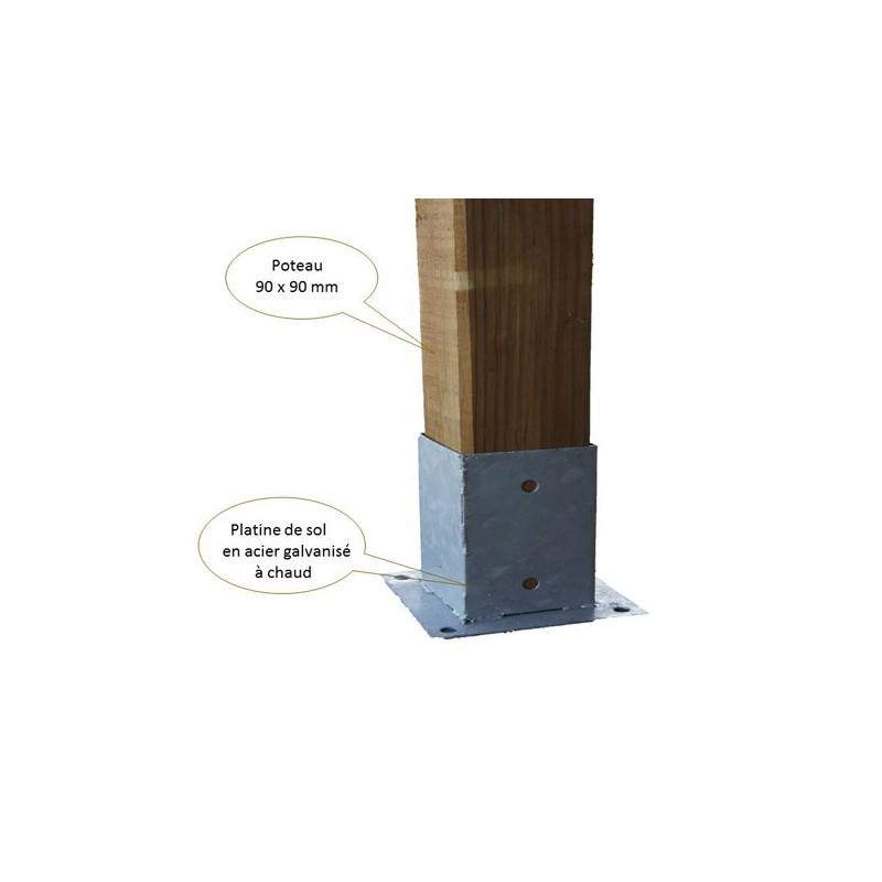 Toit terrasse bois discount couverture polycarbonate - Terrasse bois discount ...