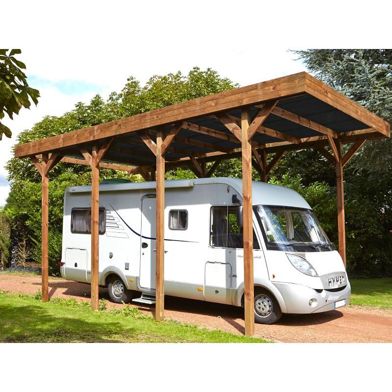 abri camping car bois 32 m2. Black Bedroom Furniture Sets. Home Design Ideas