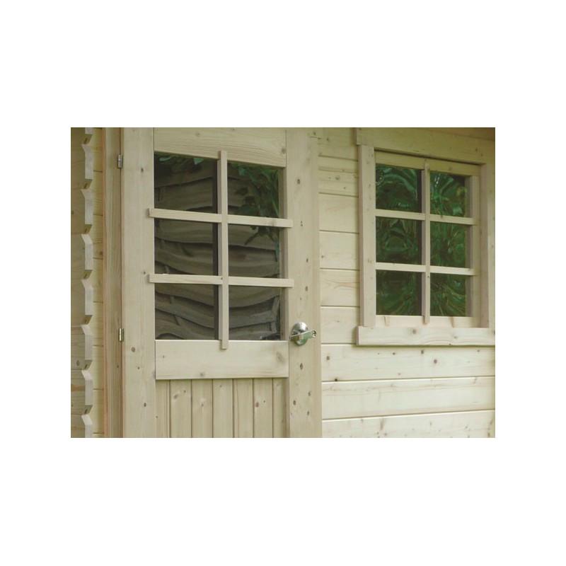 Abri de jardin traditionnel en bois autoclave 28 mm - Abri de jardin autoclave ...