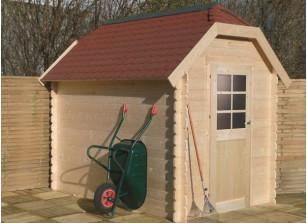 Cottage de jardin madrier bois 28 mm