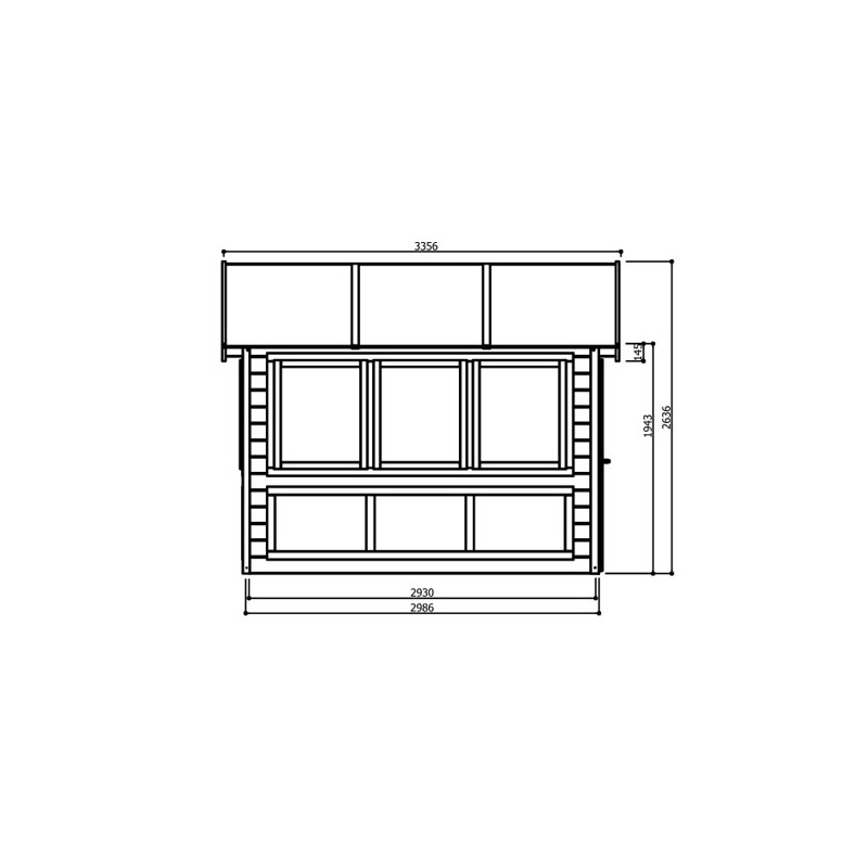 Abri de jardin vitre versailles maison design - Jardin d hiver henri salvador clermont ferrand ...