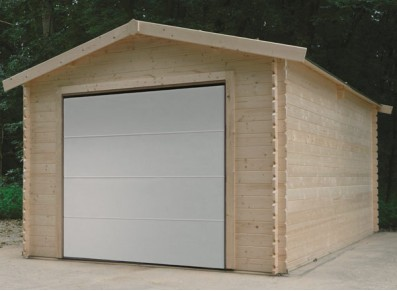 Garage bois madriers 28 mm