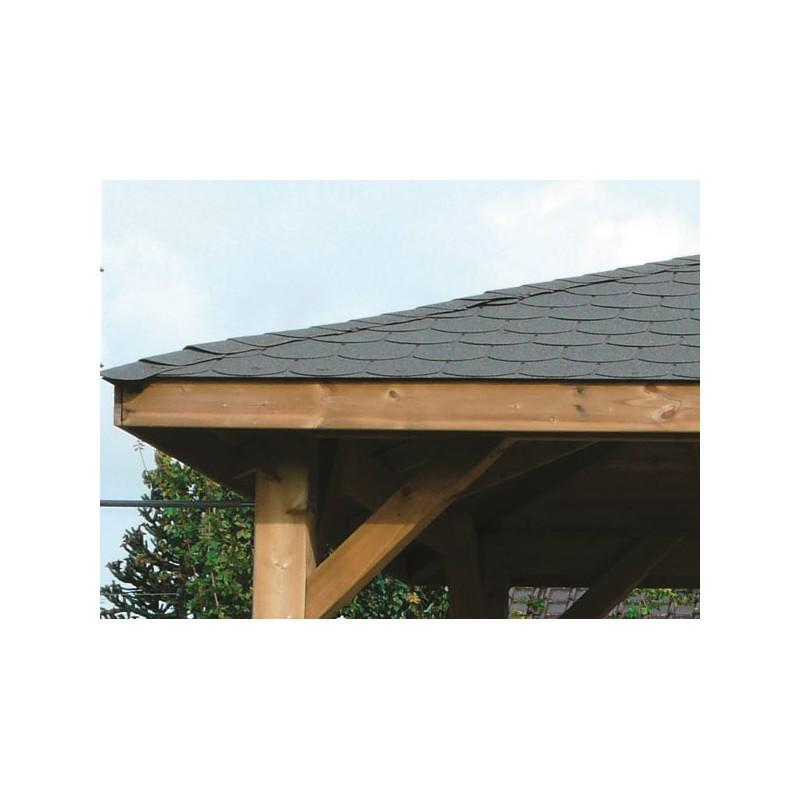 Kiosque de jardin toiture pyramidale m for Jardin 85