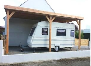 carport bois abris voiture et sur mesure prix promo. Black Bedroom Furniture Sets. Home Design Ideas