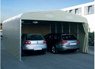 "GARAGE PVC PLIANT  ""DOUBLE""  ::::: 6x6,3 M"