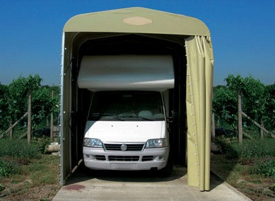 GARAGE CAMPING-CAR PVC PLIANT :::  3x6,3x3,2 M