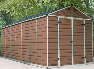 ABRI JARDIN en polycarbonate 5.42 m²