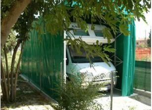 GARAGE CAMPING-CAR PVC PLIANT  3x6,3x3,4 M