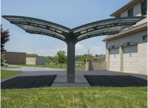 CARPORT DOUBLE DESIGN