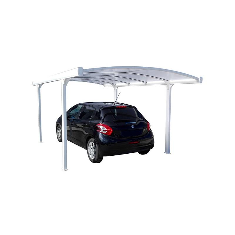 abri voiture 5 x 3 m carport aluminium pas cher. Black Bedroom Furniture Sets. Home Design Ideas