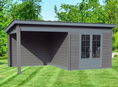 abri jardin et auvent moderne lame composite haut de gamme. Black Bedroom Furniture Sets. Home Design Ideas