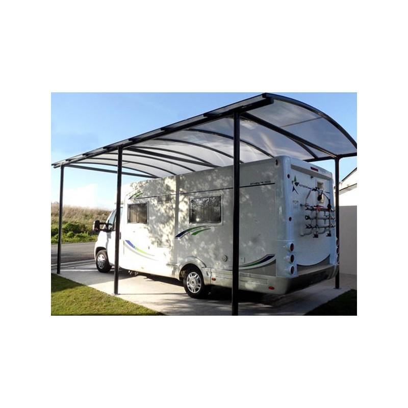 abri camping car en acier galvanise et polycarbonate. Black Bedroom Furniture Sets. Home Design Ideas