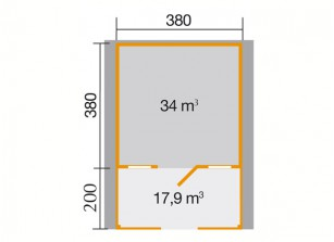 OPTION 3.80 X 3.80 M