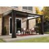 Pergola toit rétractable en aluminium