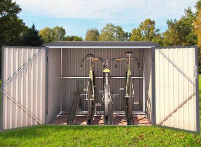 abri vélos métal