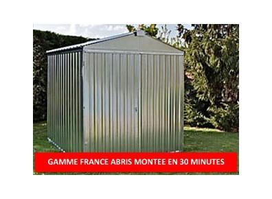 Abri jardin metal france abris brut 2,54 x 2,6 m