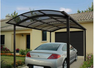 ABRI VOITURE METAL ALU LUXE ::::: 5 X 3 M