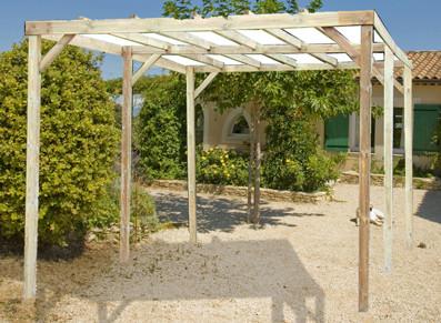 abri terrasse bois traité autoclave