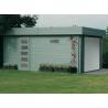 Garage bois madriers 40mm toit plat 3,58 x 5,38 m