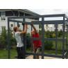 abri jardin toit plat panneaux 10mm