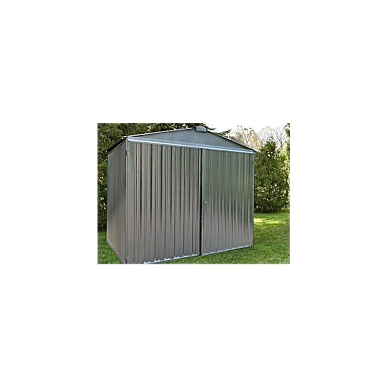 abri jardin metal stockage ferm cl d montable montage rapide. Black Bedroom Furniture Sets. Home Design Ideas