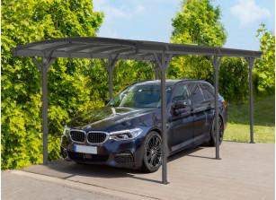 Carport cintré en aluminium