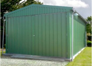 GARAGE METALLIQUE :::::::::::::::: 8.00 M X 5.00 M