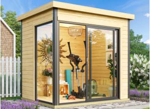 Abri jardin bois 44 mm