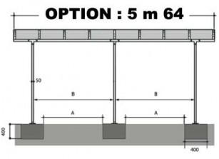 OPTION 5m64 - VENDUE AVEC UN CARPORT