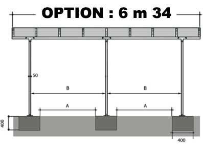 OPTION 6m34 - VENDUE AVEC UN CARPORT