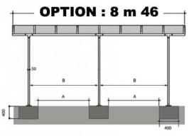 OPTION 8m46 - VENDUE AVEC UN CARPORT