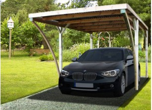 carport abri voiture pour s 39 abriter des intemp ries. Black Bedroom Furniture Sets. Home Design Ideas