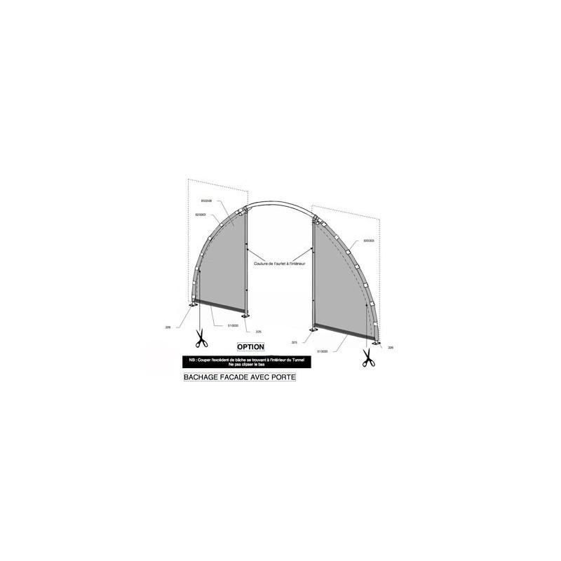 garage voiture pvc un mod le pas cher grand format offre speciale. Black Bedroom Furniture Sets. Home Design Ideas