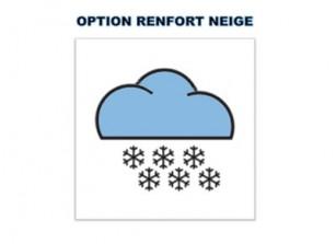 OPTION RENFORT NEIGE - VENDU AVEC CARPORT