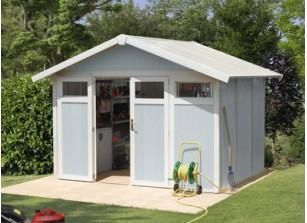 Abri jardin PVC utility 7.5 BLEU 3,15 x 2,39 m