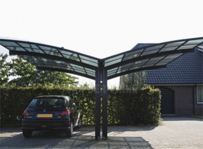 fabulous abri voiture metal alu luxe x m with car port alu carport