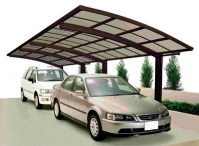 ABRI VOITURE METAL ALU LUXE ::::: 10 X 3 M
