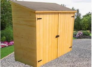 Abri mural en bois ::::::  1,75 x 0,80 m