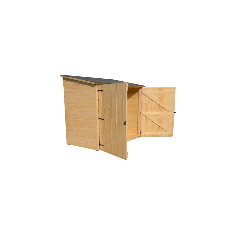 abri mural en bois panneau 1 25 x 0 65 m. Black Bedroom Furniture Sets. Home Design Ideas