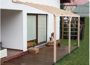 Abri terrasse toit pour terrasses alu ou bois promo for Abri mural toit rigide