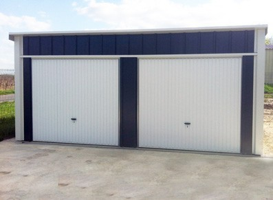 GARAGE EN METAL 6,00 x 5,36 m